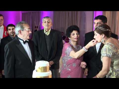 SONIA & ARVIND Wedding Reception at Beaumont Estate, Old Windsor, Mohinder Chana.mp4