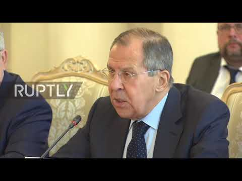 Russia: Russian, Turkish and Iranian FMs condemn Western action in Syria