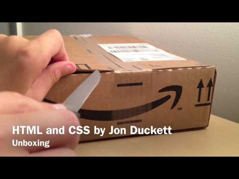 Unboxing: HTML And CSS By Jon Duckett