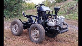 як зробити трактор з мотоцикла урал