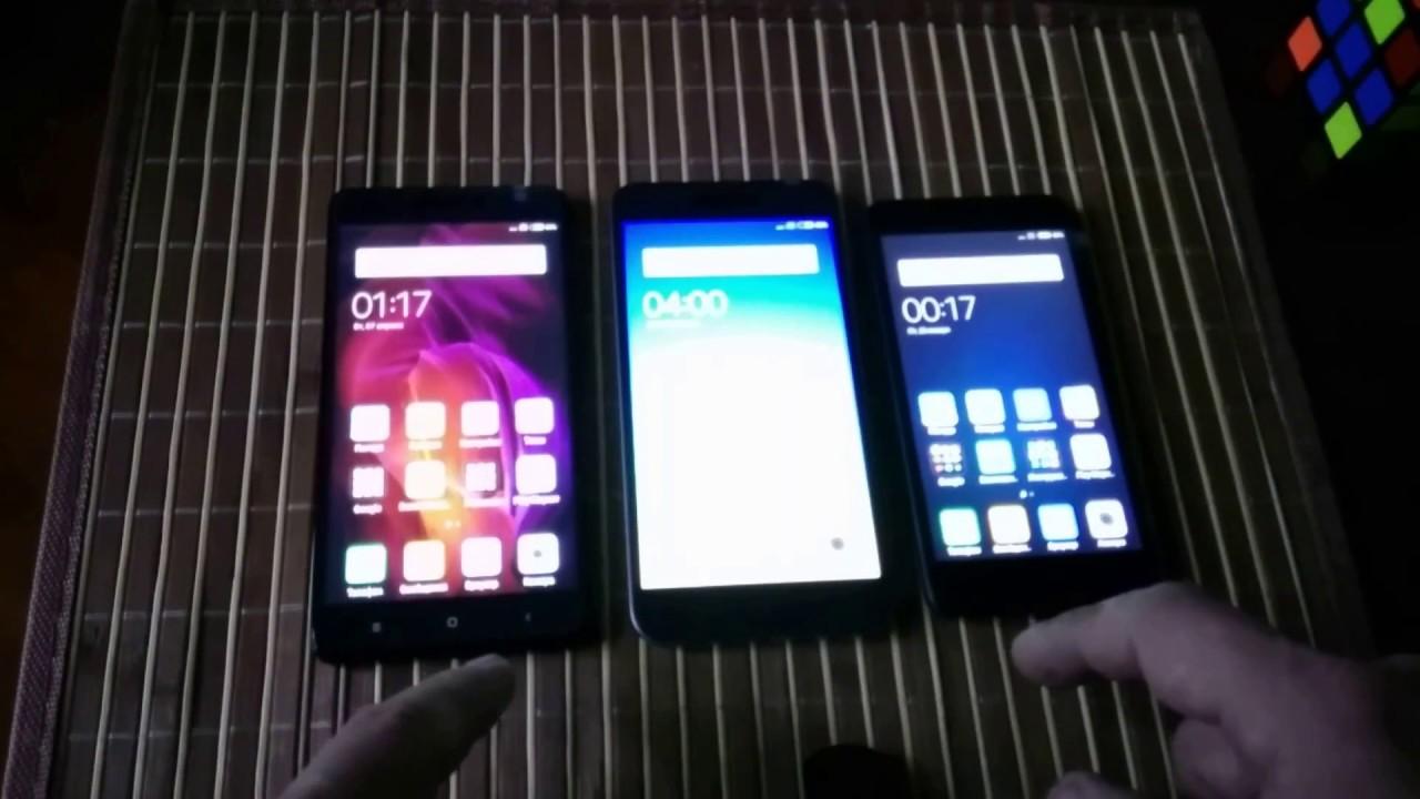 Xiaomi Redmi Note 5A vs Redmi Note 4X vs Redmi 4A - YouTube