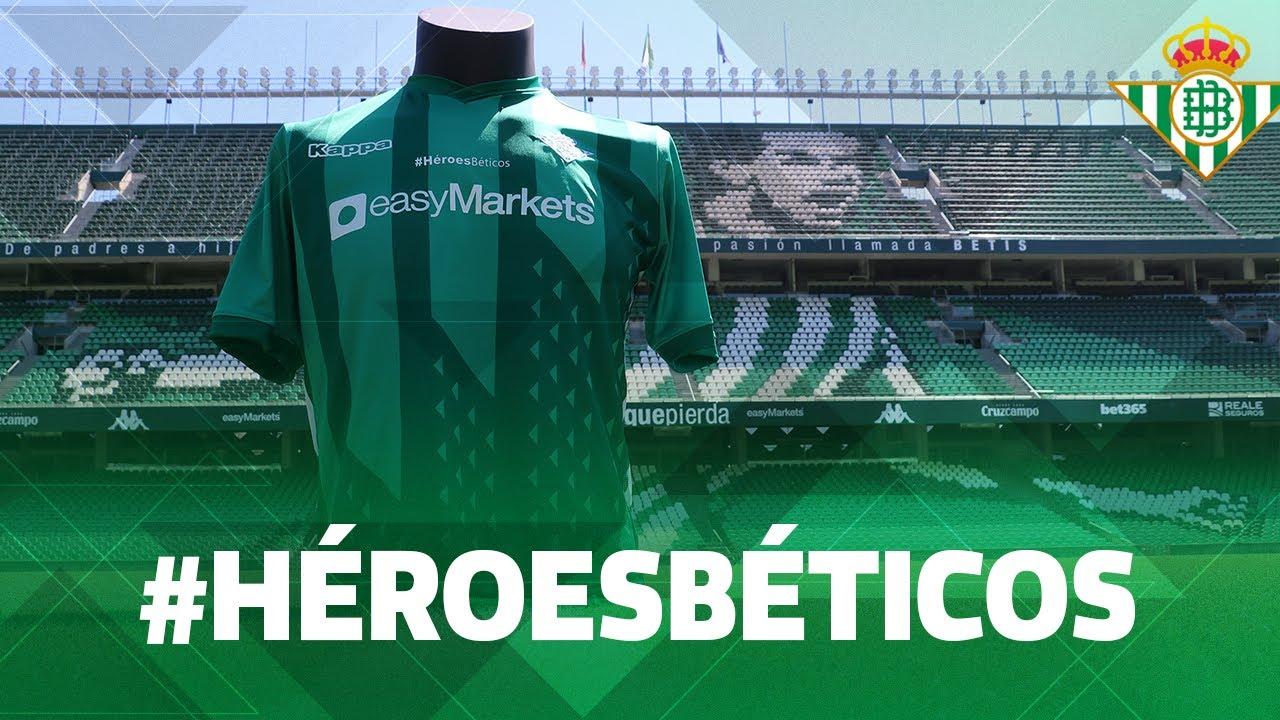 ¡Camiseta especial en homenaje a los Héroes Béticos! 💚💚