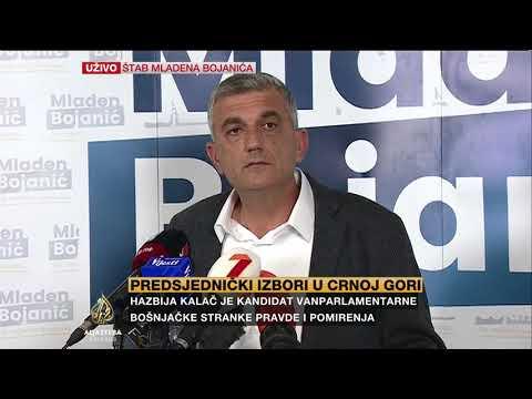 Bojanić: Neću čestitati pobjedu Đukanoviću