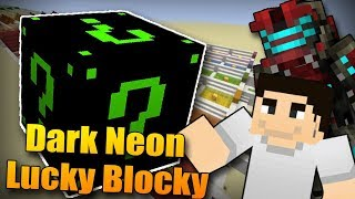 NOVÉ DARK NEON LUCKY BLOCKY!! 😍 Minecraft Lucky Block Race w/McCitron