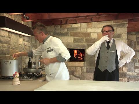 Ravioli al ripieno di mare - Video ricetta - Grigio Chef