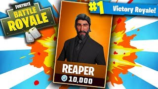 TIER 100 REAPER! FORTNITE RARE SKIN! 495+ WINS || 10,700+ KILLS! (Fortnite Battle Royale)