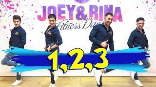 "Sofia Reyes Ft Jason Derulo "" 1,2,3 "" Coreografìa Joey&Rina    TUTORIAL   Balli di Gruppo 2018"