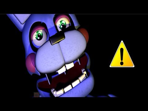 Five Nights at Freddy's 6: Rockstar Bonnie Jumpscare