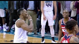 Dwight Howard Blows Kisses to Wizards Following Fight, Ejections in Hornets Win