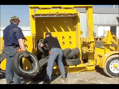 Eagle ETB90 Tire Baler