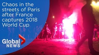 World Cup 2018: Thousands celebrate France's World Cup victory thumbnail
