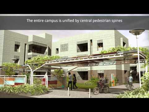 Tour the IIT Gandhinagar permanent campus