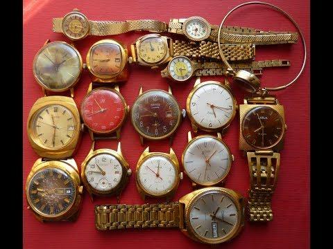 Какие советские часы ценятся???Покупка и ОЦЕНКА часов
