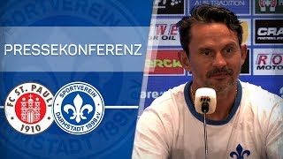Darmstadt 98 | Pressekonferenz vor FCSP-D98