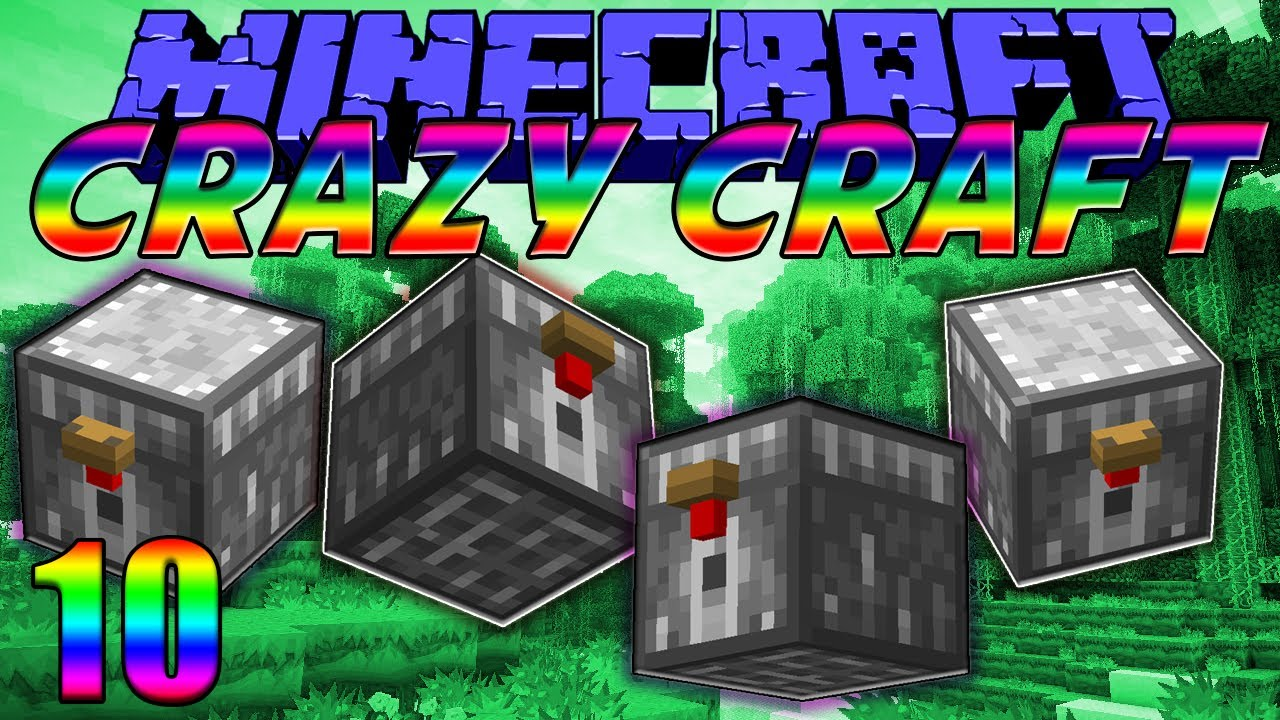 Minecraft Crazy Craft 2 0 Quot Chicken Chest Madness Quot Ep 10