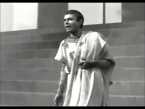 Brutus Speech at Caesar's funeral - Closed Captions