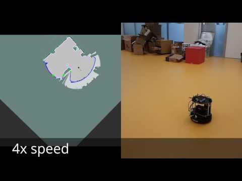 Autonomous exploring with turtlebot in ROS
