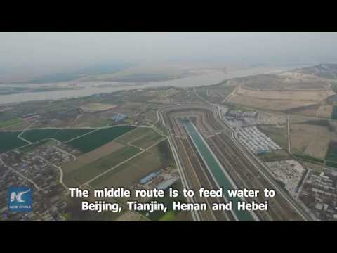 How does water of China's two longest rivers meet? Find out in this video
