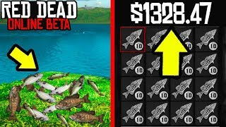 SECRET MONEY MAKER YOU DONT KNOW ABOUT in Red Dead Online! RDR2 Online Money Easy and Fast!