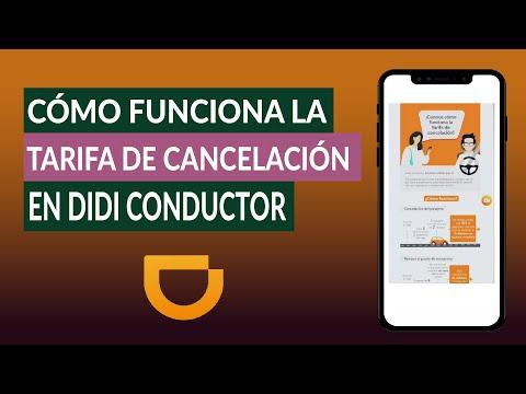 Cómo Funciona la Tarifa de Cancelación al Cancelar un Viaje en DIDI Conductor