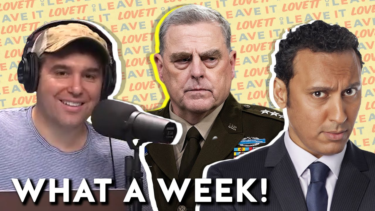 Download Lovett and Aasif Mandvi React to the General Milley Bombshell | Lovett or Leave It Podcast