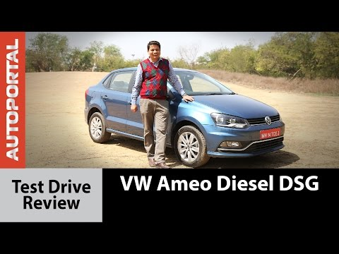 Volkswagen Ameo Diesel DSG Test Drive Review - Autoportal