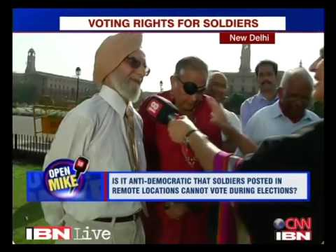 Voting Rights for our Armed Forces Personnel