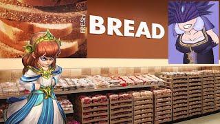 Scylla eats bread.