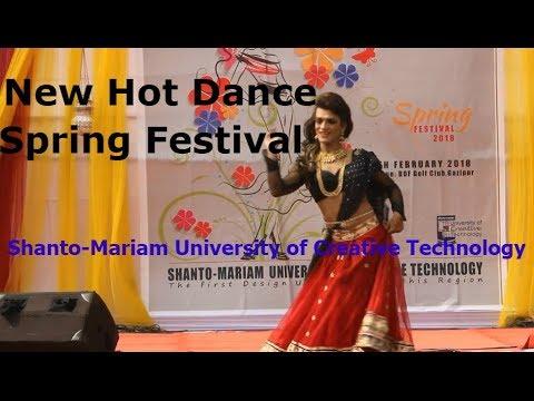 Hot Dance Spring Festival Shanto Mariam University Of Creative Technology Silly Genius Youtube