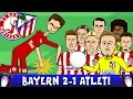 Bayern Munich vs Atletico Madrid 2-1 (UEFA...