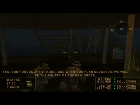 SOCOM: Mission 4 (Golden Triangle Holiday)