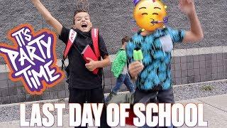 LAST DAY OF SCHOOL! FIRST DAY OF SUMMER BREAK!