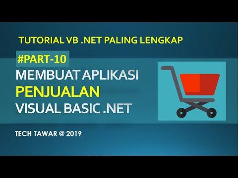 Membuat Aplikasi Penjualan Dengan Vb.net