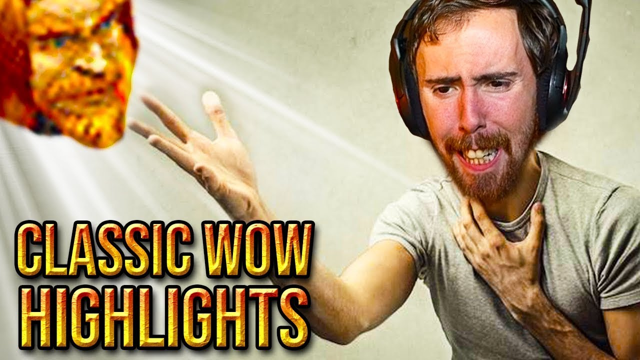 Asmongold Misses Playing With Mcconnell - Classic WoW ...