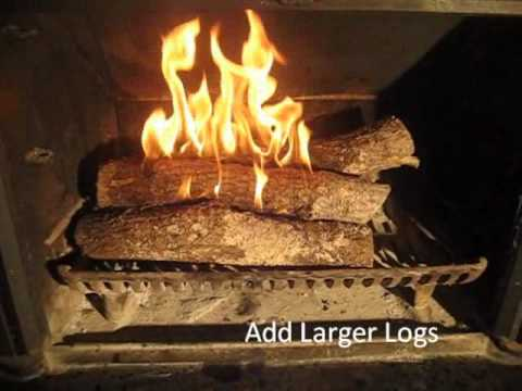 The Best Fireplace Fire In Under 2 Minutes YouTube