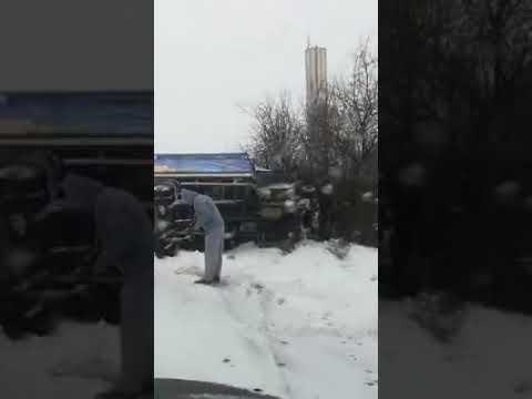 Autocamion Răsturnat La Olimp, Județul Constanța
