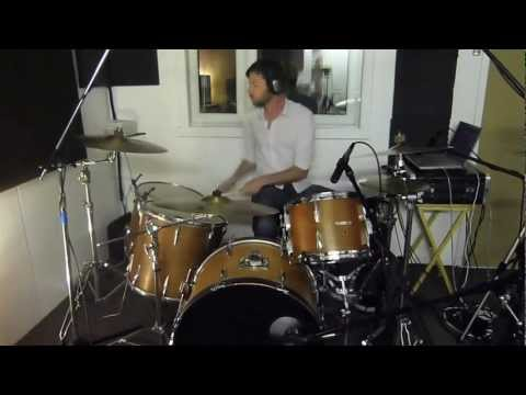 Red Rain - Instrumental Mix - Online Session Drummer Matt Snowden