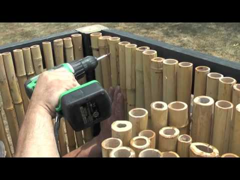 Waddell Bamboo Fencing