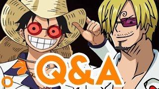 Q&A mit Sanji & Ruffy (One Piece-Synchronsprecher Hubertus von Lerchenfeld & Daniel Schlauch)
