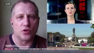 Интервью В. Гарначука ТК Дождь 19.05.2017. Чистый берег. Крым