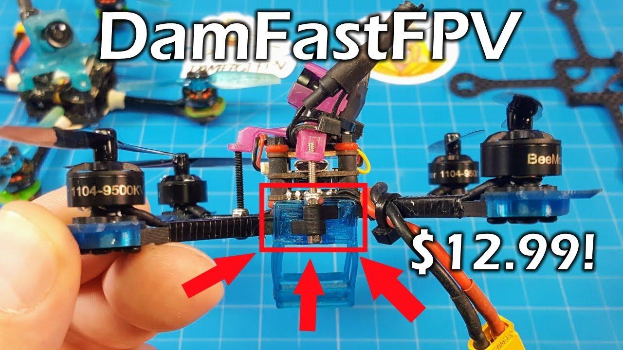 DamFast FPV // Offset Micro Frame
