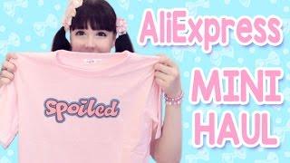 AliExpress Mini Haul!