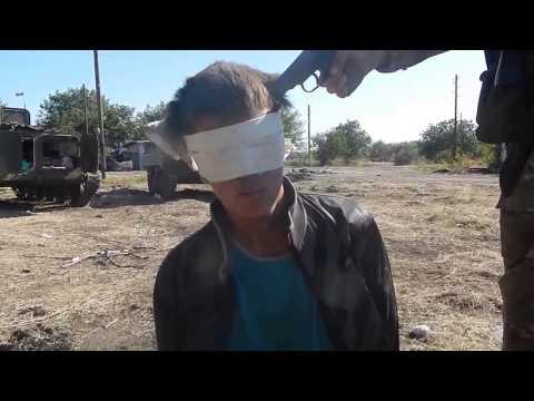Допрос карателя ATO in Ukraine