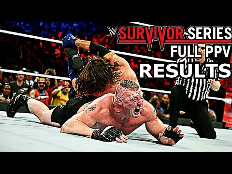WWE Survivor Series 2017: All Results...