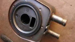 Refroidisseur d'huile moteur 2.0 hdi  مبرد زيت المحرك . Engine oil cooler 2.0 HDI
