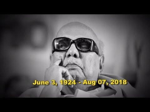 Tribute to DMK stalwart M Karunanidhi (1924-2018)
