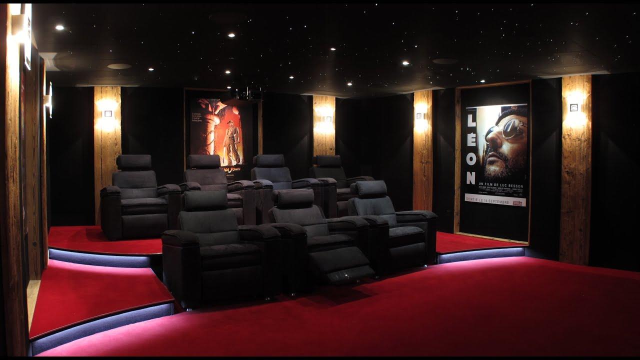 syst me d box de mouvement des fauteuils dans un luxueux home cinema priv votre cinema youtube. Black Bedroom Furniture Sets. Home Design Ideas