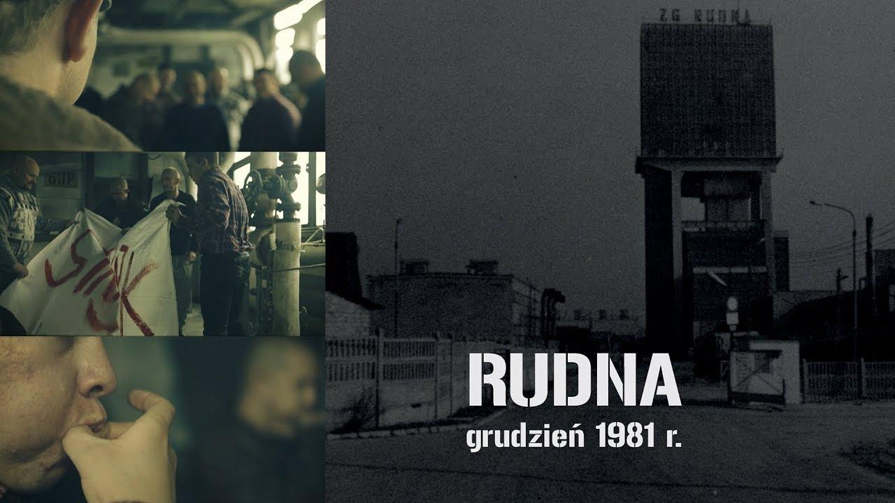 """IPNtv Wrocław: """"Rudna – grudzień 1981"""" – film."""