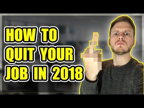 How To Quit Your Job And Start A Business in 2018
