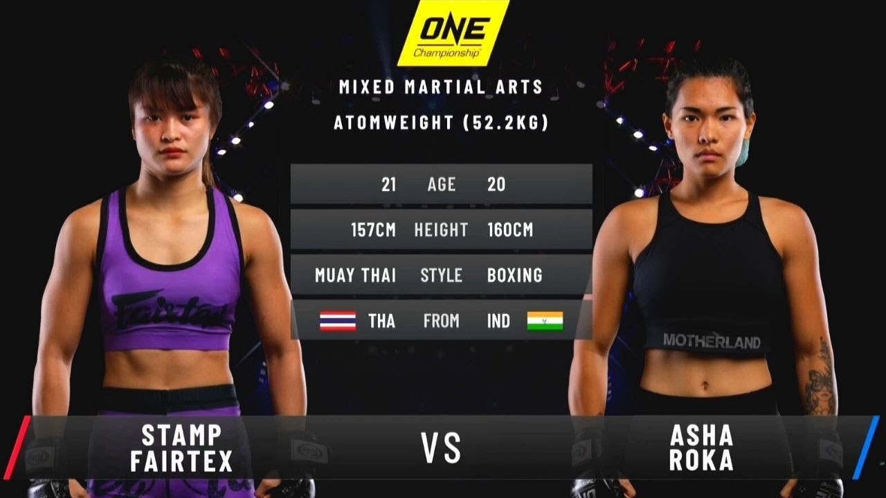 Stamp Fairtex vs. Asha Roka | Full Fight Replay